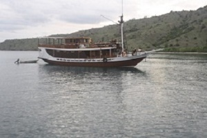 AC boat trip to Komodo national park