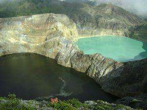Kelimutu lake Flores